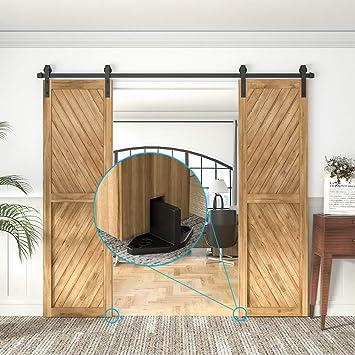 winsoon antiguo puerta corrediza de granero Hardware puertas ...