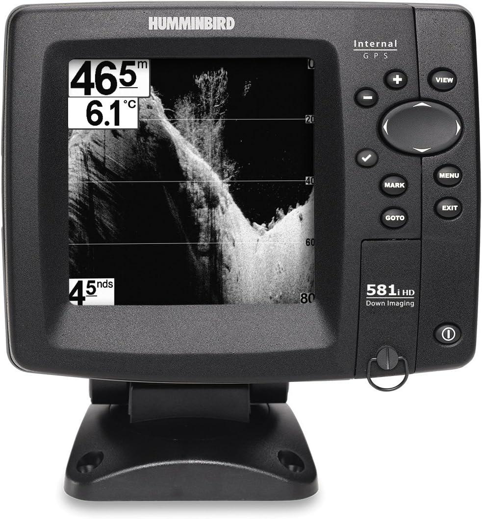 Humminbird sondeur Echo Radar pesca ff581i hd-di Down Imaging, sonda traversante plástico & Temperatura: Amazon.es: Deportes y aire libre