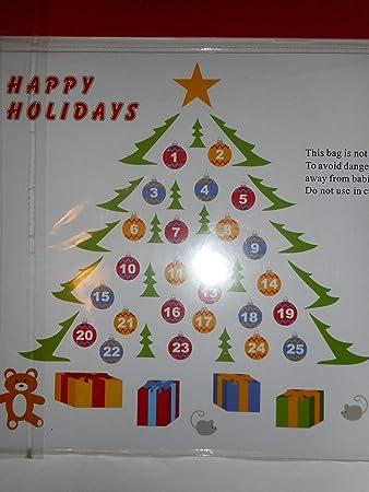 Amazon.com: Seasons of Cannon Falls Happy Holidays Refrigerator ...