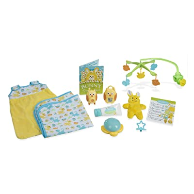 Melissa & Doug Mine to Love Bedtime Play Set for Dolls with Night-Light, Baby Monitors, Mobile, More (11 pcs, Great Gift for Girls and Boys - Best for 3, 4, 5, 6, and 7 Year Olds): Toys & Games