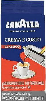 Lavazza Crema e Gusto Ground Italian Coffee Beans