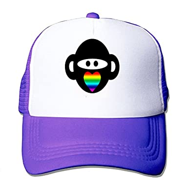 Gay Ninja Monkey Mesh Back Trucker Cap Low Profile ...