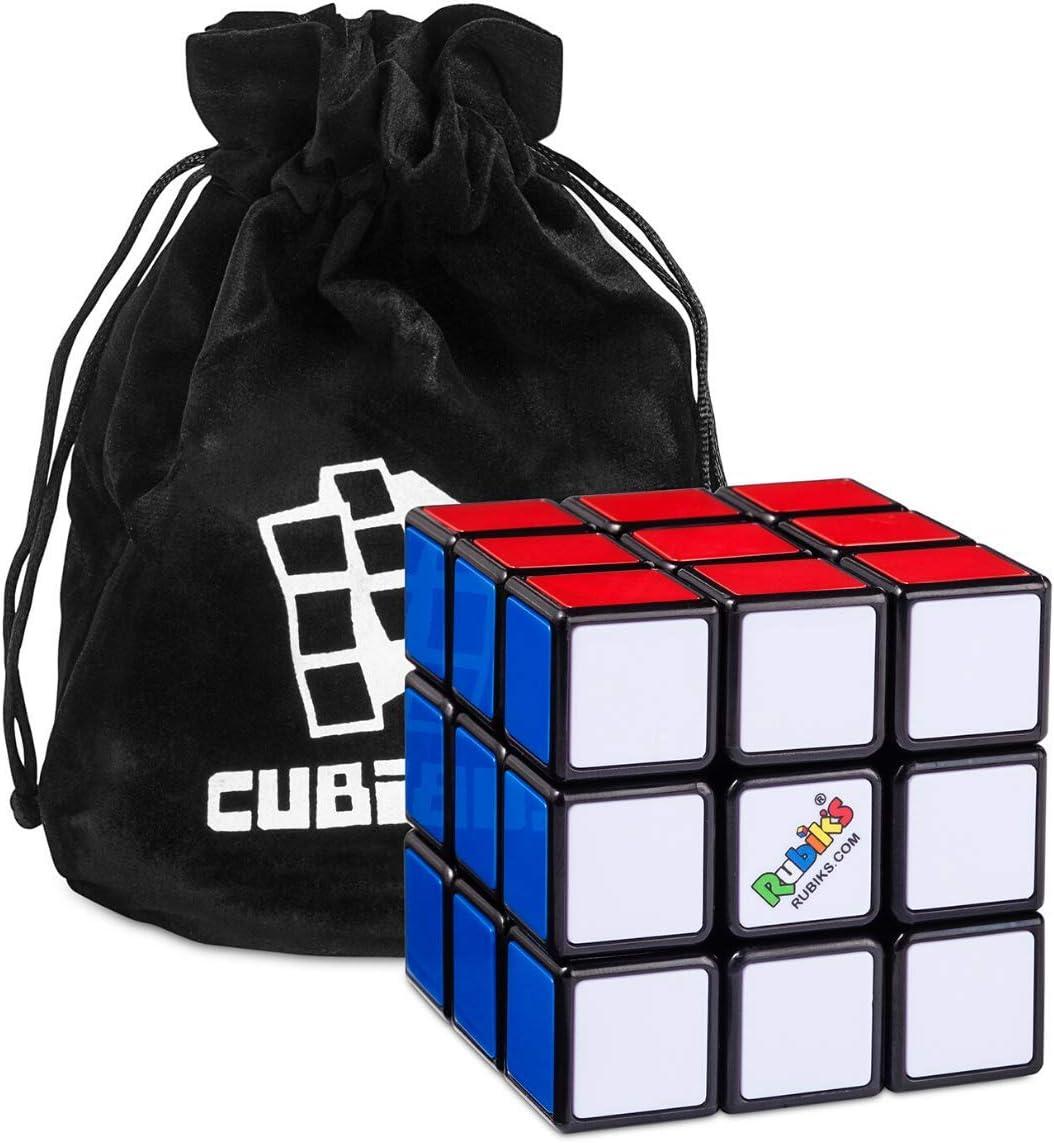 Cubo de Rubik 3x3 Original (Rubiks Cube 3x3) - Versión Mejorada - Cubikon bolso incluido e soporte, Rubik 3x3, Rubik Cube: Amazon.es: Juguetes y juegos