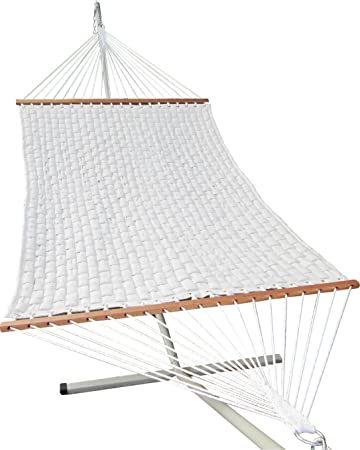 Oak N Oak Basket Weave Hammock And Stand