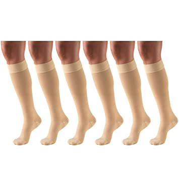 5eb9ca9673 Image Unavailable. Image not available for. Color: 30-40 mmHg Compression  Stockings for Men and Women ...