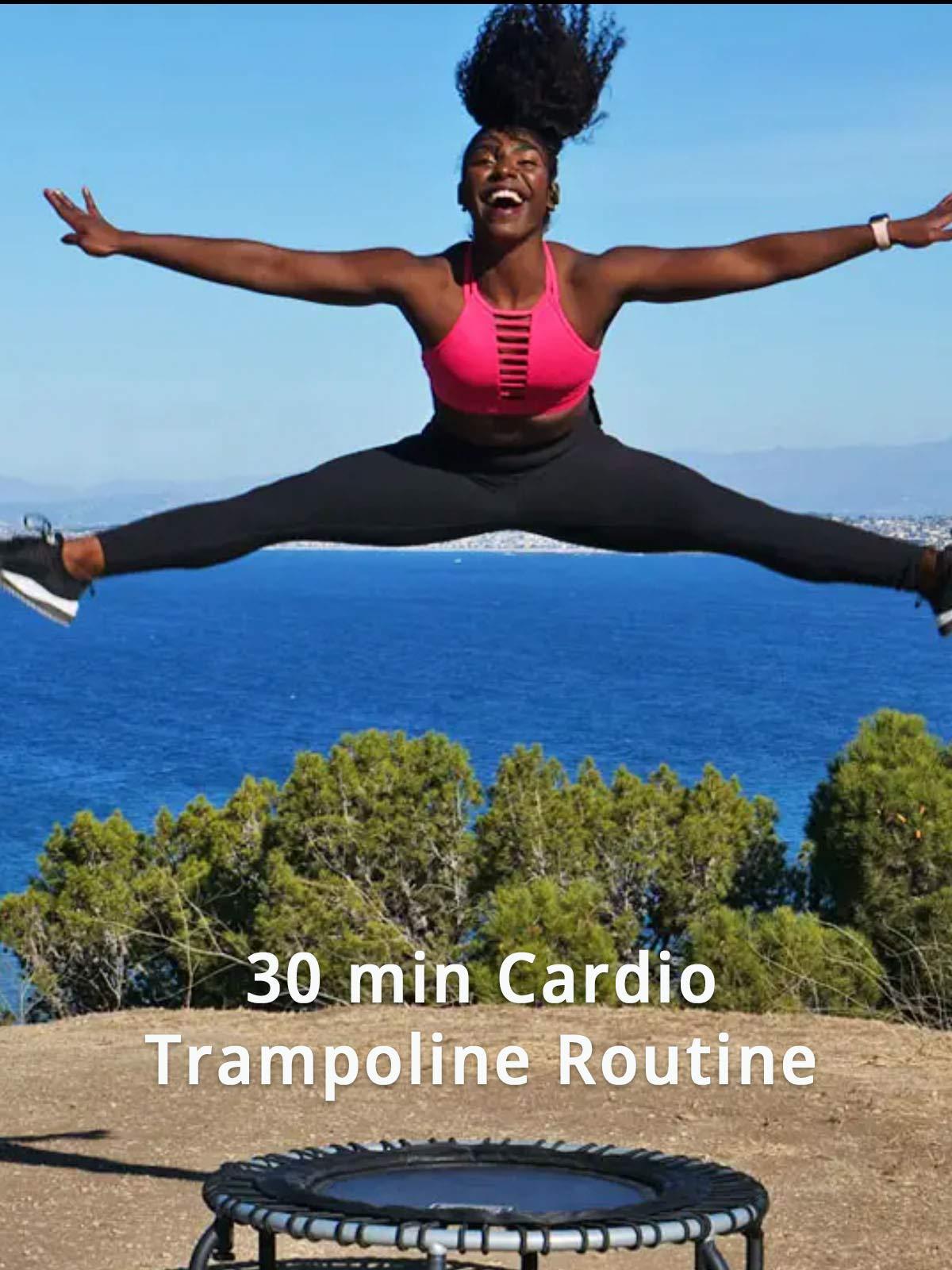 30 min Cardio Trampoline Routine