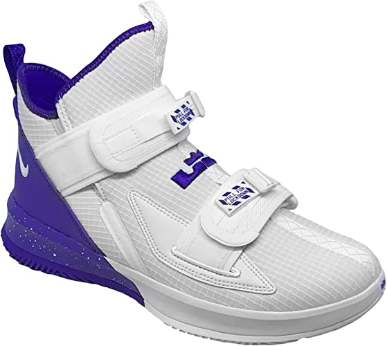 Nike Lebron Soldier 13 SFG - Zapatillas de Baloncesto, Blanco ...