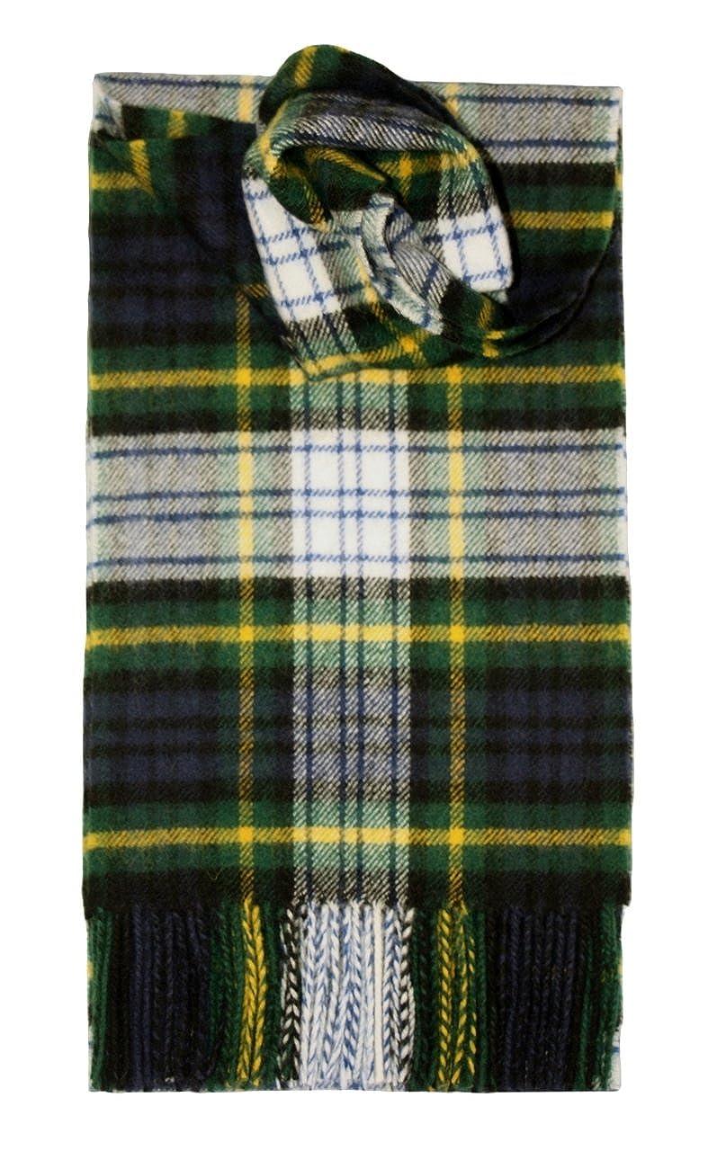 Lochcarron of Scotland, Escocia -  Gordon (Dress) Tartán Bufanda de Lana de Cordero