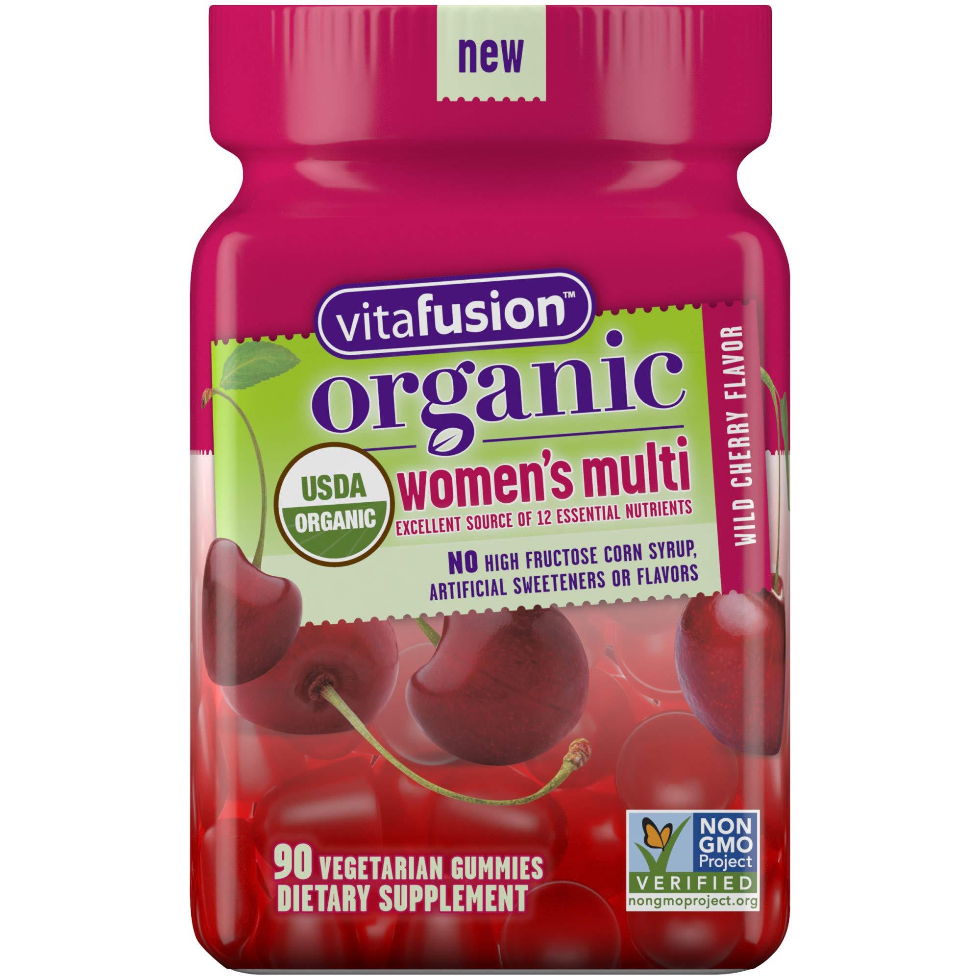 Vitafusion Organic Womens Gummy Multivitamin