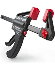 TEKTON 39181 6-Inch by 2.5-Inch Ratchet Bar Clamp and 12-Inch Spreader