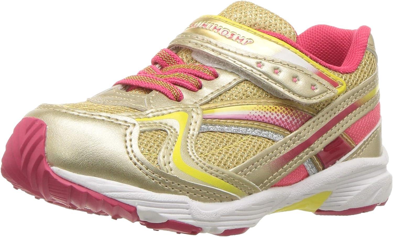 TSUKIHOSHI Girls Glitz Sneaker 8 M US Toddler M US Toddler Graphite//Lavender