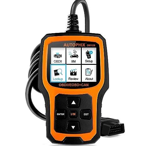amazon com autophix code reader om126 obdii obd2 scanner car engine rh amazon com