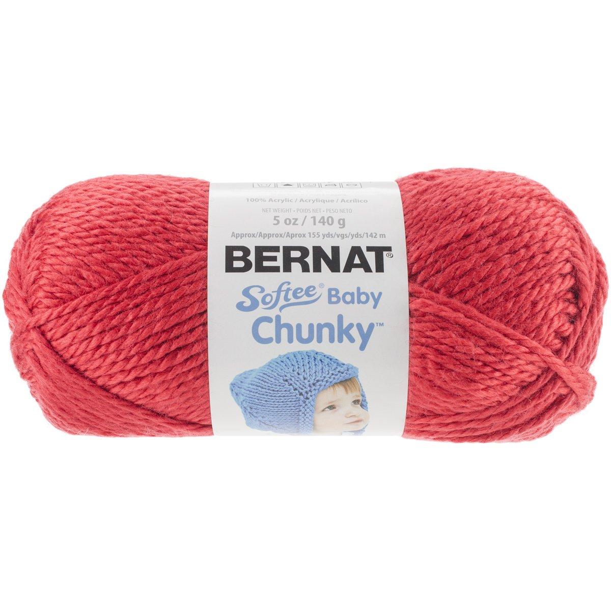 Amazon.com: Bernat Softee Baby Chunky Yarn (5) Bulky Chunky Gauge ...