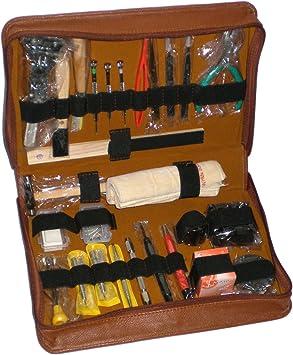Gran kit de herramientas S1 Deluxe EXQUISITE en estuche para relojero: Amazon.es: Bricolaje y herramientas