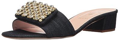 8594038caea00 Kate Spade New York Women's Mazie Heeled Sandal, Indigo Denim, 5 Medium US