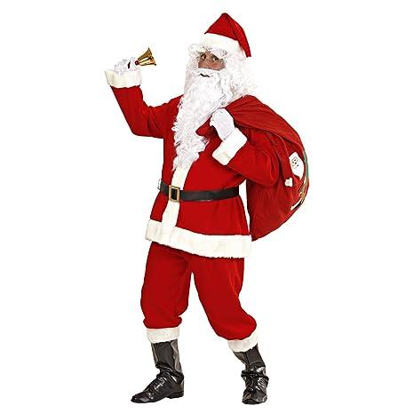 Amazon.com: Disfraz de Santa Suit Super Deluxe para padre ...