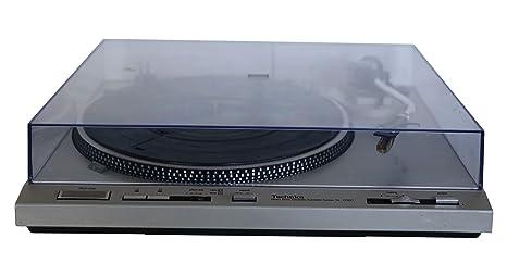 Technics SL de D303 Tocadiscos en plata: Amazon.es: Electrónica