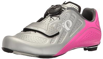 Pearl Izumi Women's W Elite Road V5 Cycling Shoe, SilverPink Glo, 36.5