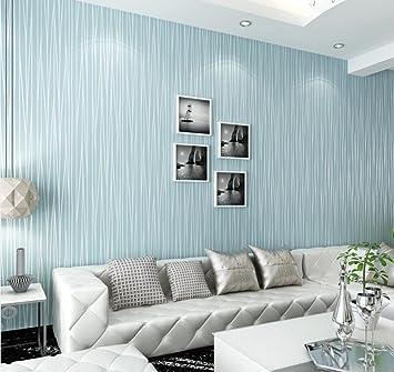 3D Streifen Tapete Thicking Vlies Einfach Pure Farbe Modern Einfach Hotel  Schlafzimmer Fernseher Hintergrund Wand Dekoration
