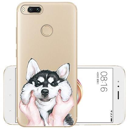 Amazon.com: seawanca Xiaomi Mi A1 Funda Suave Silicona TPU ...