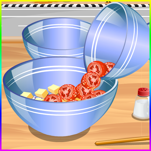 - games cooking salad games