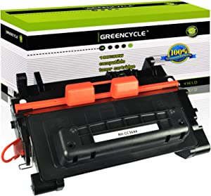 GREENCYCLE 1 PK Compatible Black Toner Cartridge replacement for HP 64A CC364A for Laserjet P4014 P4014n P4015 P4015n P4515 P4515tn P4515x Series Printer
