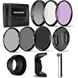 Neewer 62MM Professional UV CPL FLD Lens Filter and ND Neutral Density Filter(ND2, ND4, ND8) Accessory Kit for Pentax (K-30 K