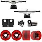 Core 7.0 Raw Longboard Trucks Wheels Package 70mm