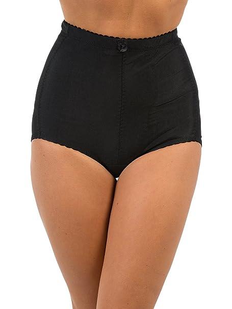 79c95afa37d64 Ladies Tummy Tuck   Bum Lift Medium Control Panty Girdle Briefs 210 -  Black