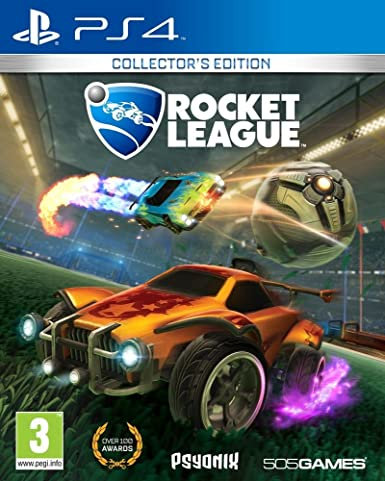 505 Games Rocket League PS4 Coleccionistas PlayStation 4 vídeo - Juego (PlayStation 4, Racing, Modo multijugador, E (para todos)): Amazon.es: Videojuegos