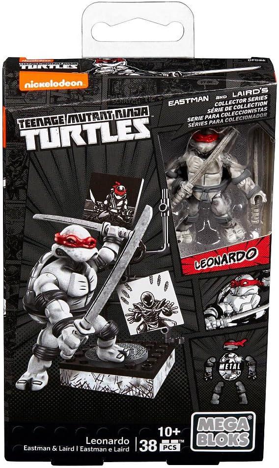 Mega Bloks Teenage Mutant Ninja Turtles - Leonardo Eastman & Laird Collectors Figure