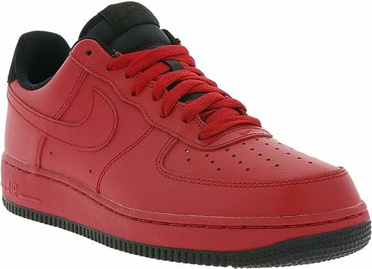 Nike Scarpe Air Force 1 '07 RossoRossoNero Formato: 40  JIaN3m