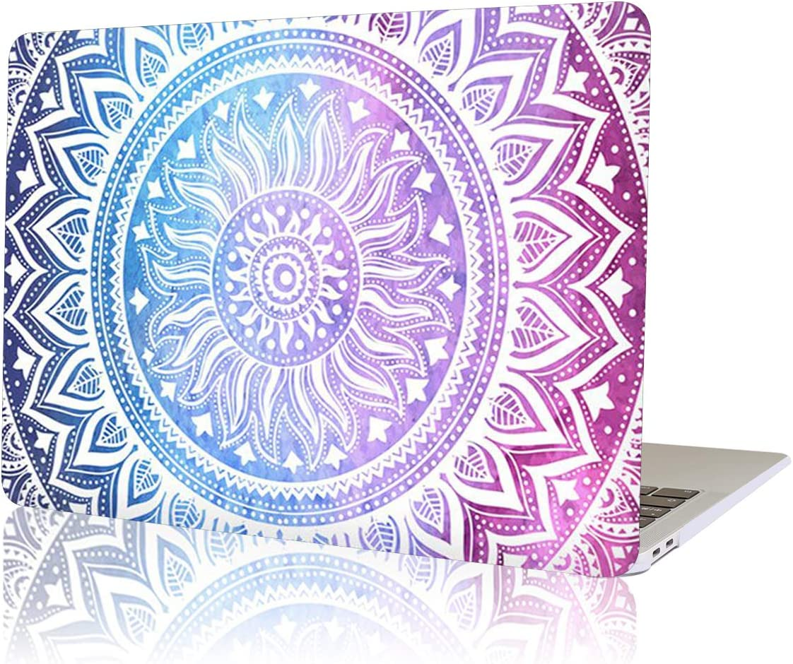 YMIXPlastic Cover Snap on Hard Protective Case for MacBook Air 13