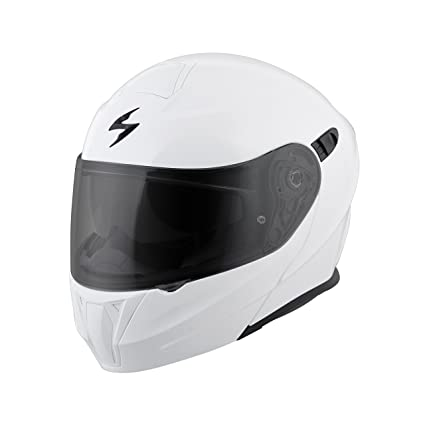 a953bb9d Image Unavailable. Image not available for. Color: ScorpionExo EXO-GT920  Full Face Modular Helmet (Solid White ...