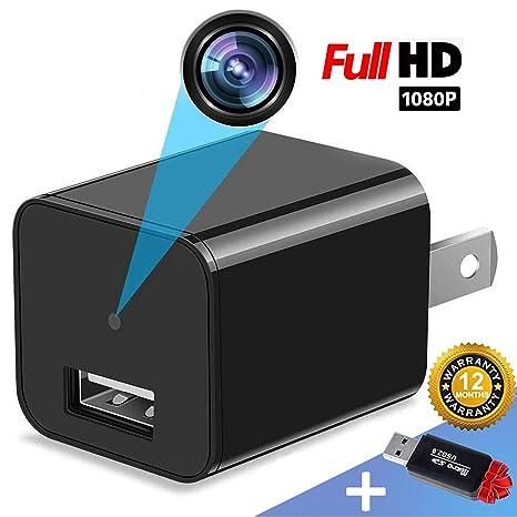 Amazon.com: Cargador de cámara espía – Mini cámara oculta ...