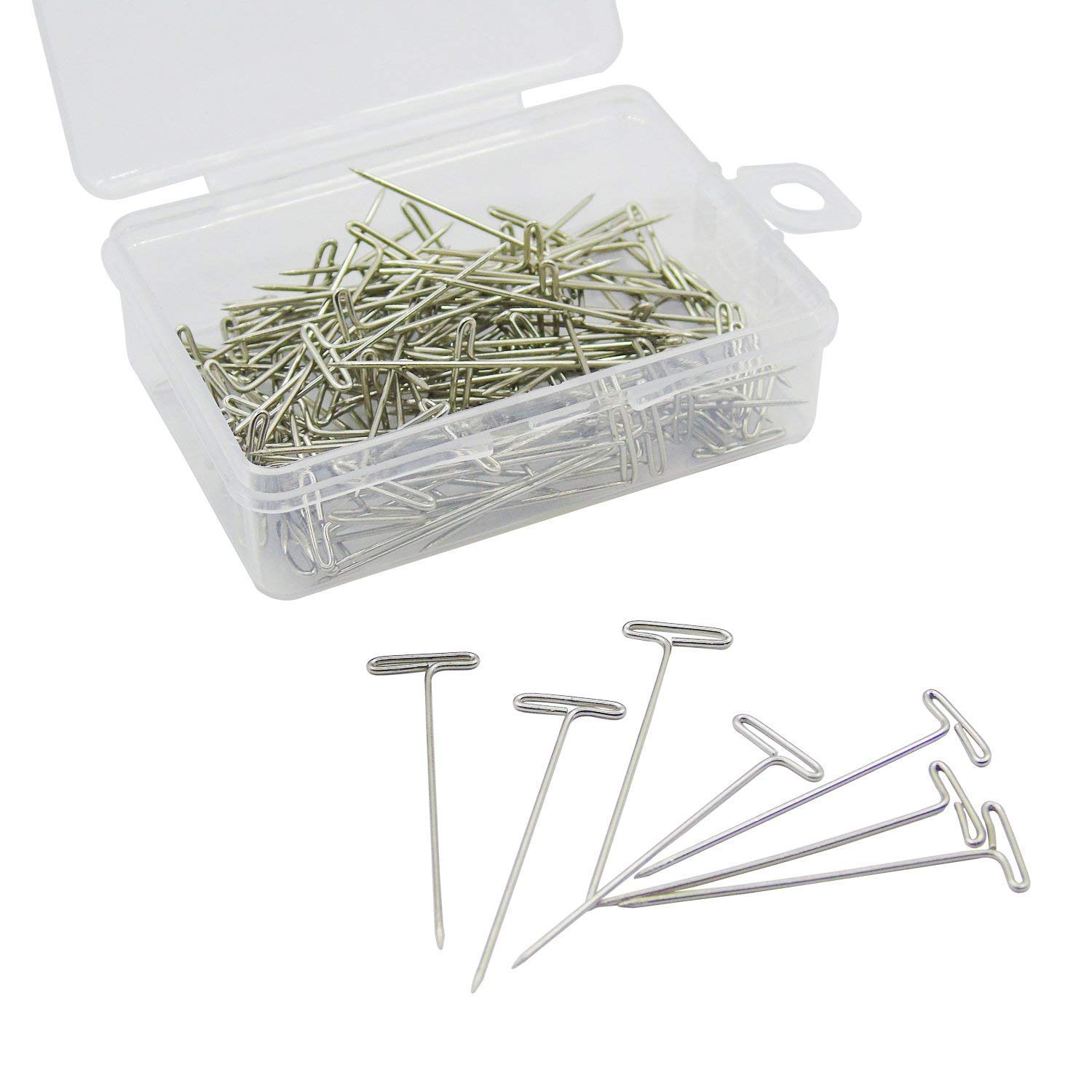 Grosun 400pcs 38mm/1.5inch Stainless Steel T-Pins