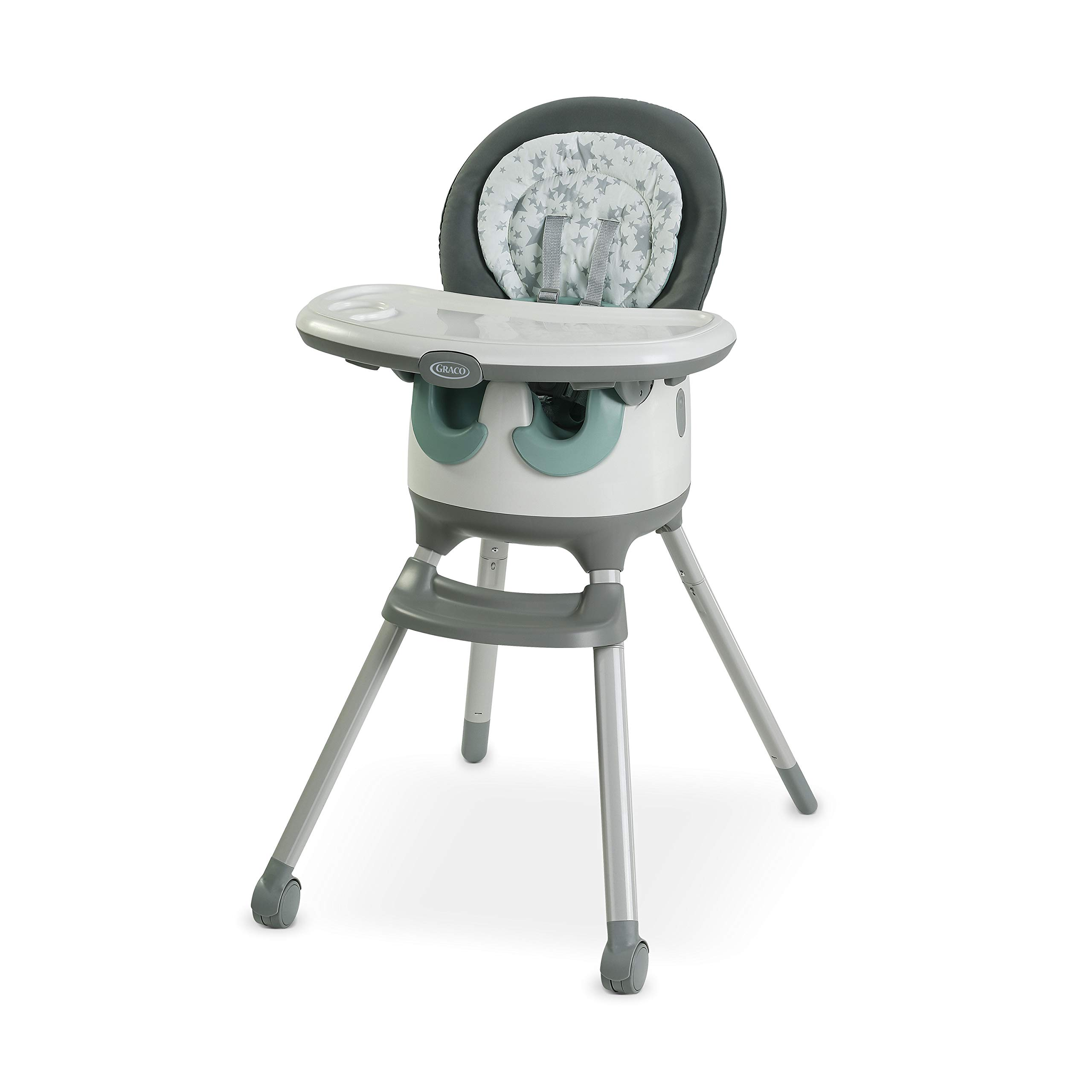 Graco Floor2Table 7 in 1 High Chair | Converts to an Infant Floor Seat, Booster Seat, Kids Table and More, Oskar by Graco