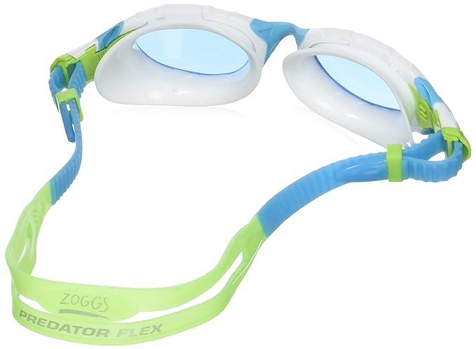 Zoggs Predator Flex Womens Gafas de natación, Mujer, Celeste/Blanco, Talla Única: Amazon.es: Deportes y aire libre