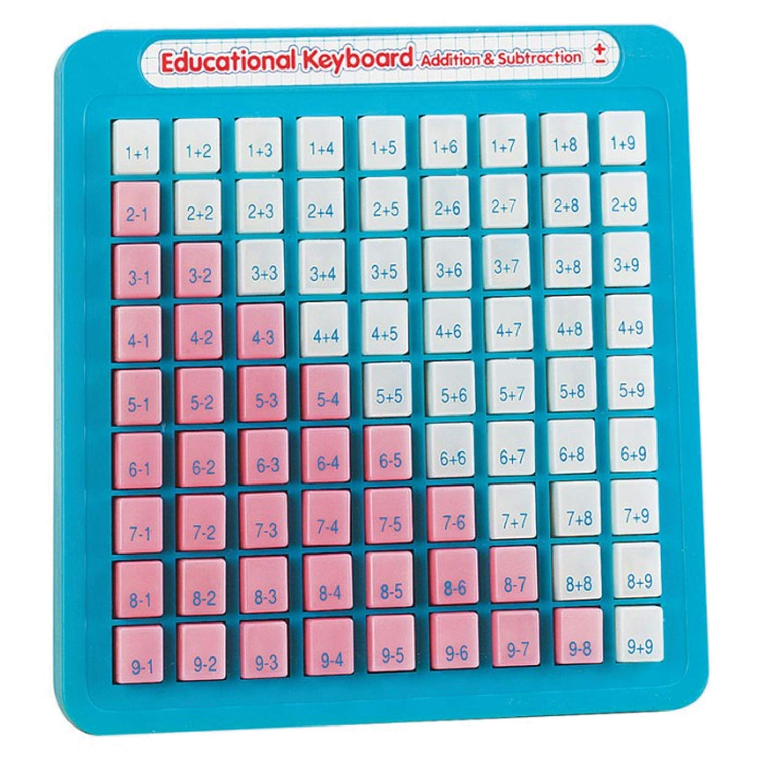 Small World Toys Preschool - Pluses and the Minuses Math Keyboard by Small World Express