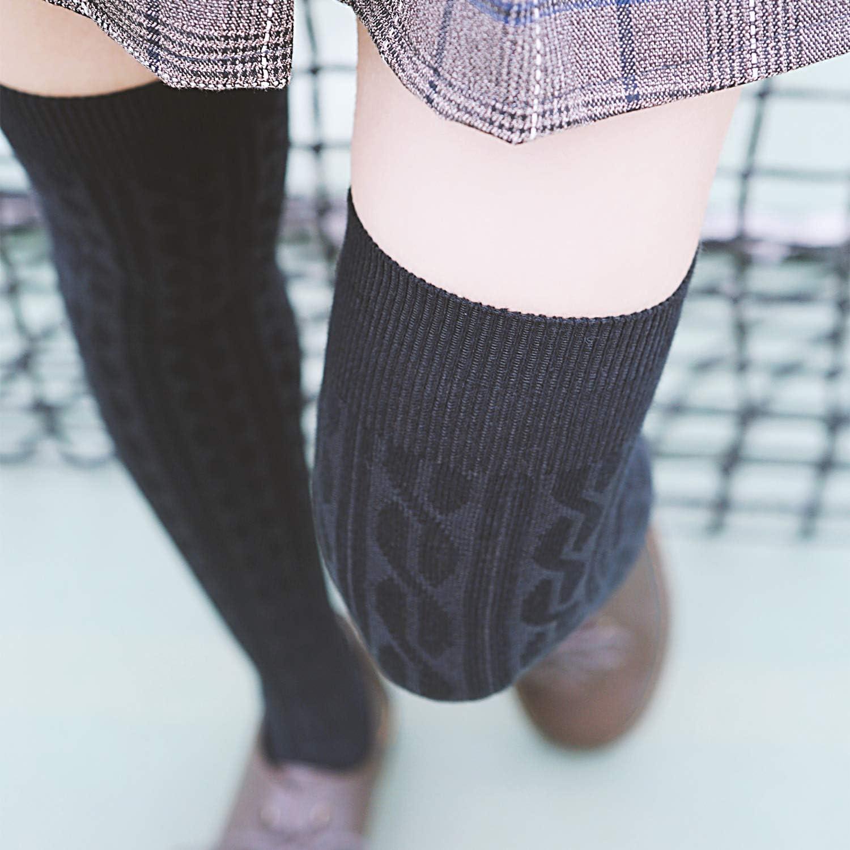 Big Girls 4 Pairs Over Knee High Cotton Boot Socks JMYP1024