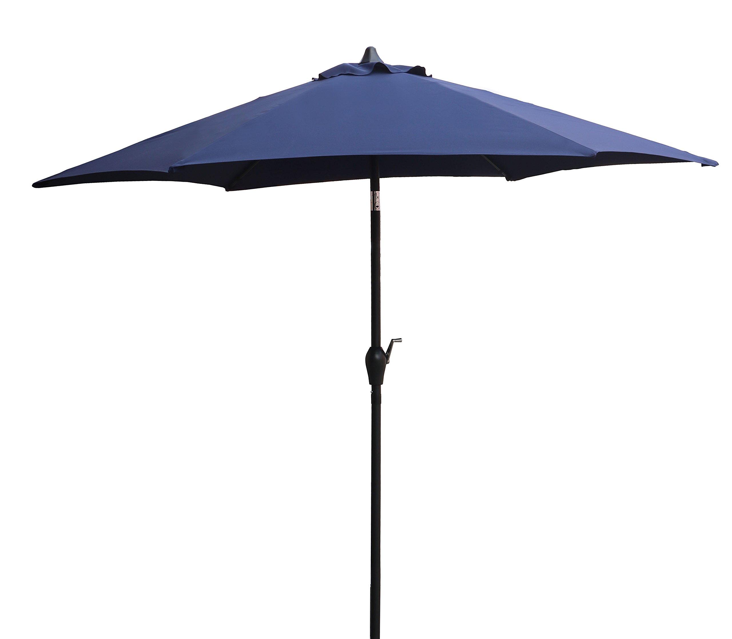 CORAL CASTLE 9' Patio Umbrella (Navy) by CORAL CASTLE (Image #2)