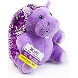 Creativity for Kids Mini Sequin Pets Sensory Stuffed Animal - Hope The Hippo, Purple