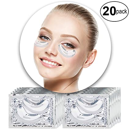 VAGA 20 pares de parches de colageno transparente para ...