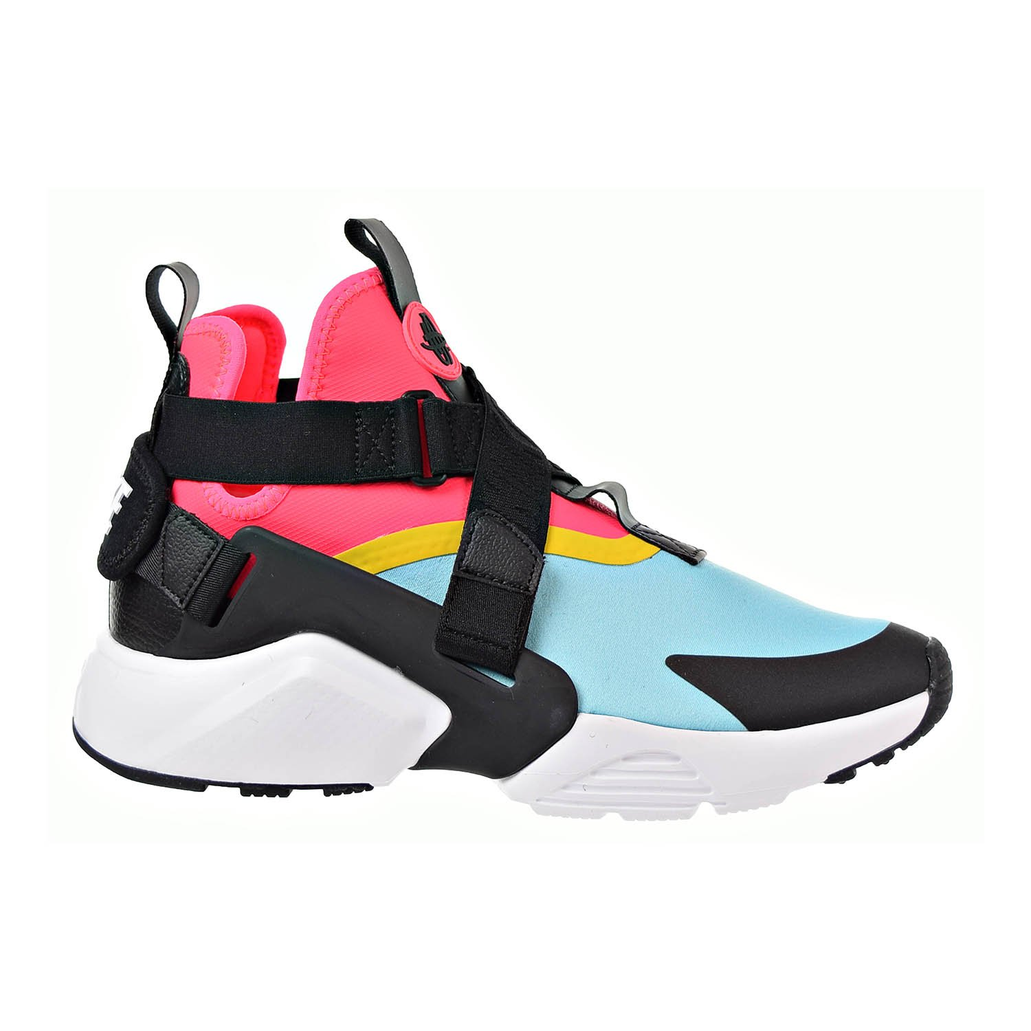check out ab945 4c3de Galleon - NIKE Air Huarache City Women s Shoes Bleached Aqua Black Racer  Pink Ah6787-400 (11 B(M) US)