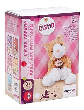 Glorex GmbH 0 4625-1 Kuscheltier zum Selbermachen Katze Gismo, 26 cm ...