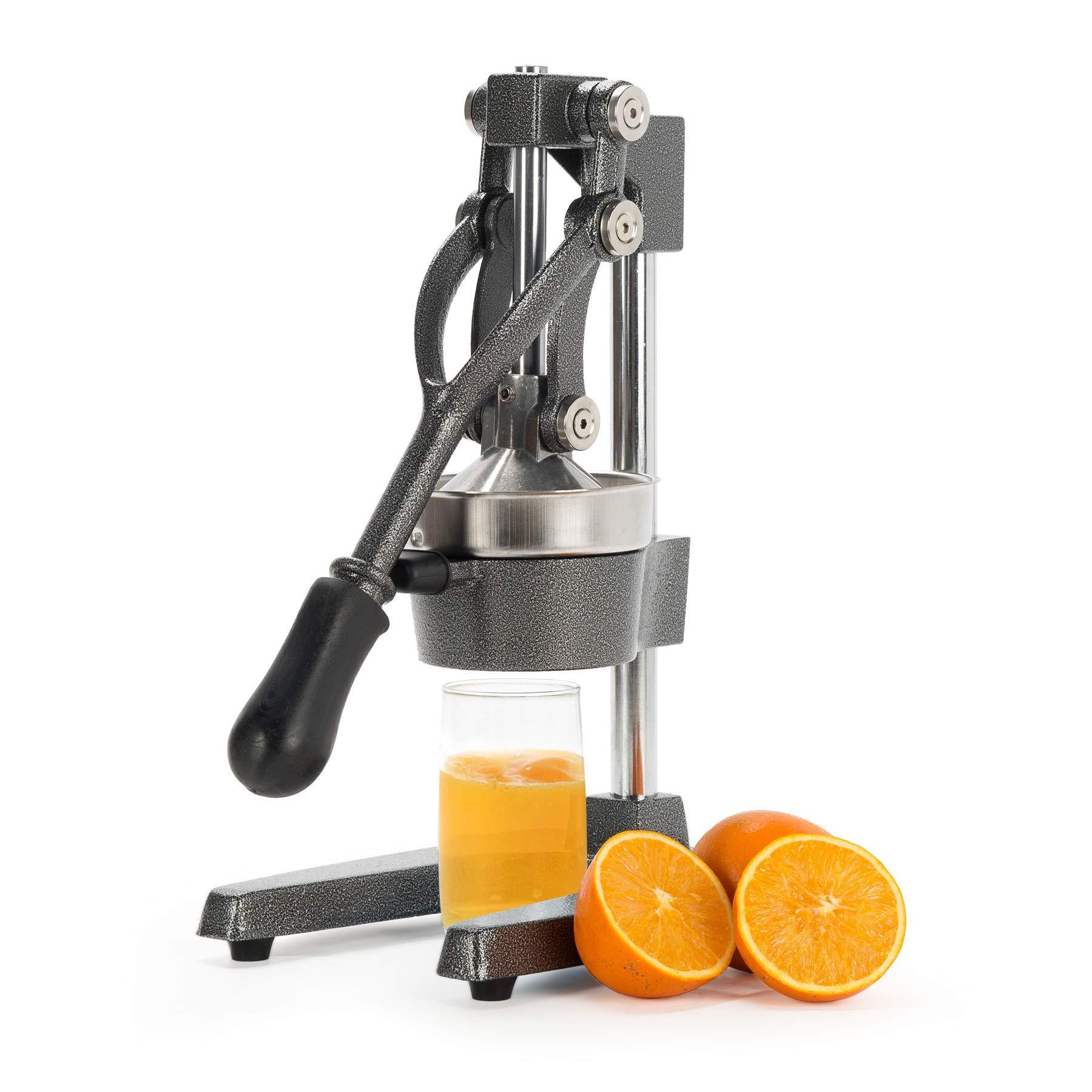 CO-Z Commercial Grade Citrus Juicer Hand Press Manual Fruit Juicer Juice Squeezer Citrus Orange Lemon Pomegranate (Gray) by CO-Z