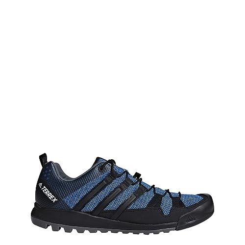 100% authentic 98eed 6f993 adidas Terrex Solo, Scarpe da Trail Running Uomo, Nero Cblack, 41 2