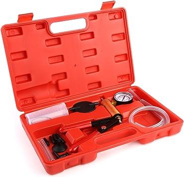 SLPRO/® Bremsenentl/üfter Bremsenentl/üftungsger/ät Vakuum Vakuumpumpe Vakuumtester Set Anzeige bis 760 mm Hg
