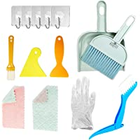 Mini Dustpan and Broom Set - Cage Cleaner for Small Animal Pet - Cat Reptile Hedgehog Hamster Chinchilla Guinea Pig…