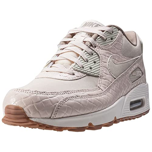 Zapatillas Nike Air Max 90 Premium Crema: Amazon.es: Zapatos y complementos